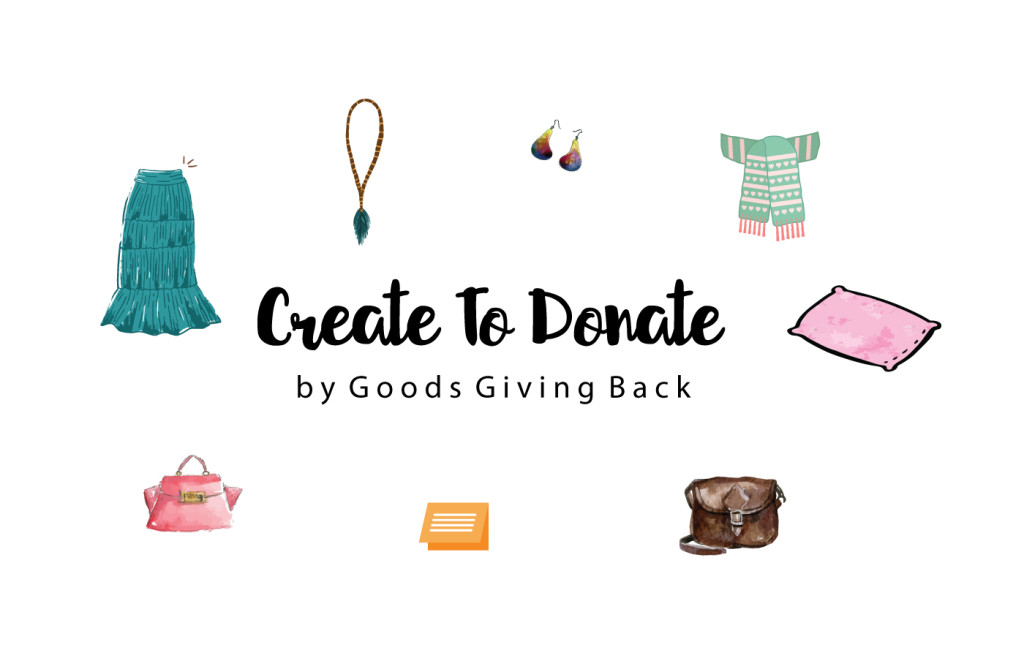 Create To Donate is a micro-volunteering site for makers.